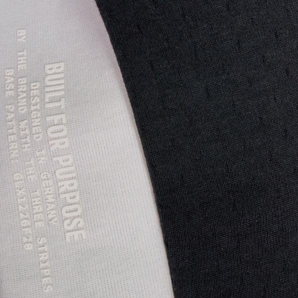 adidas フルジップフーディー(ブラック/Oサイズ)