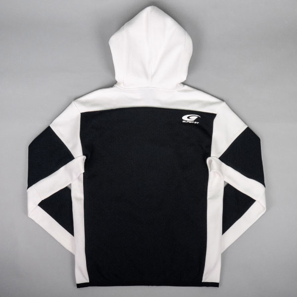 adidas フルジップフーディー(ホワイト/Oサイズ)
