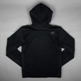 adidasフルジップフーディー(ブラック)