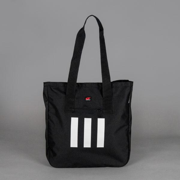 adidas 3ストライプストートバッグ