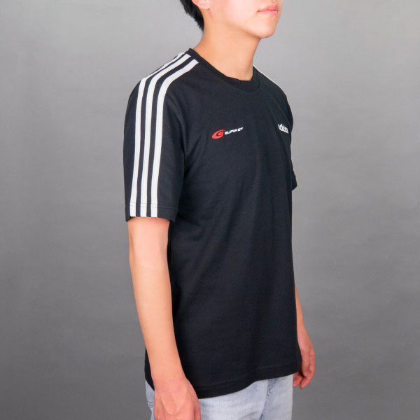 adidas 3ストライプスTシャツ2021(Oサイズ)