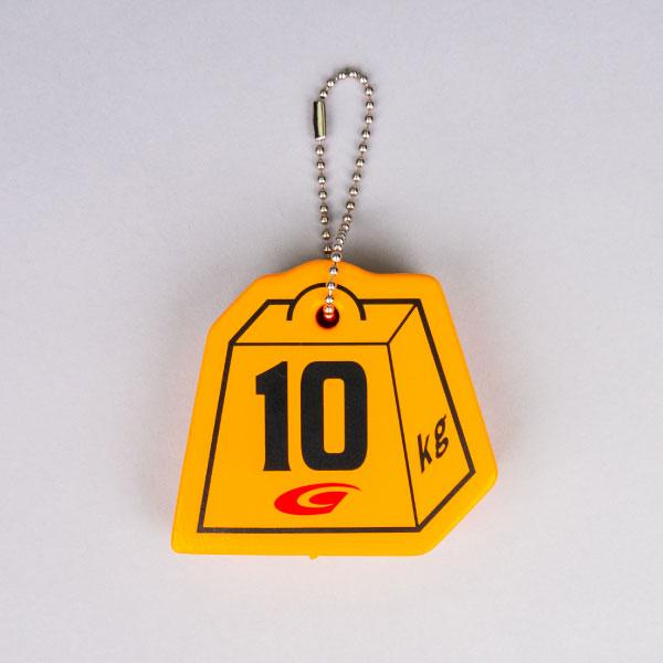 SUPER GT サクセスウェイトフロートキーホルダー 10㎏