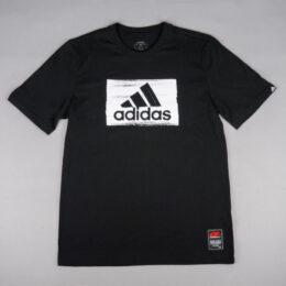 adidas ブラシストロークグラフィックTシャツ