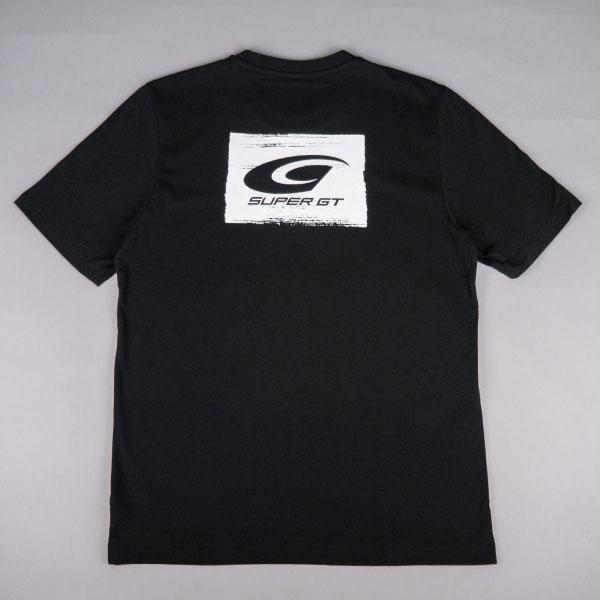 adidas ブラシストロークグラフィックTシャツ(BK/Oサイズ)