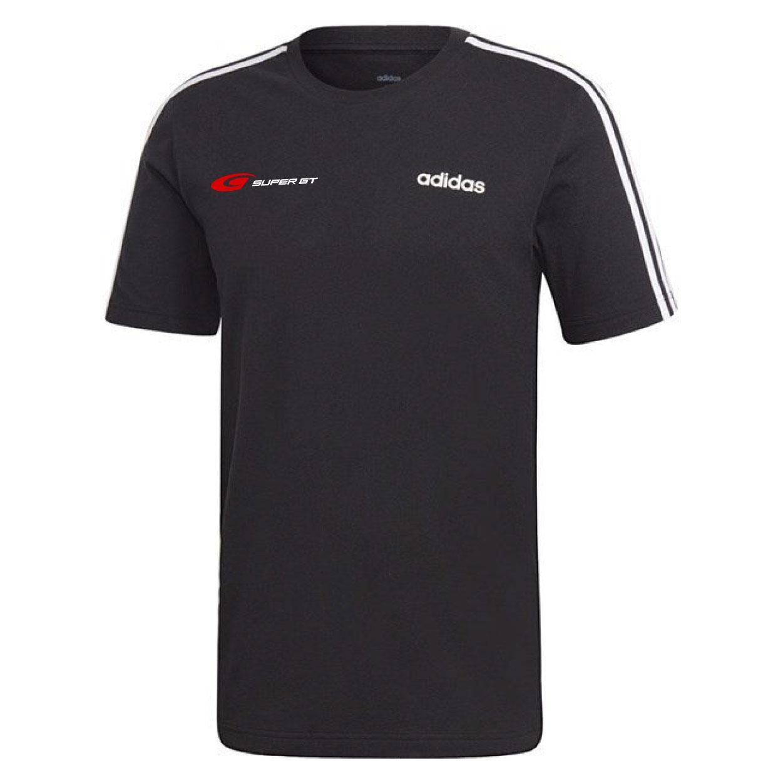 【SC会員先行販売】adidas 3ストライプスTシャツ(Oサイズ)