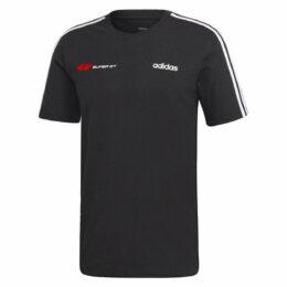 adidas 3ストライプTシャツ