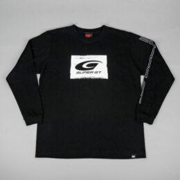 SUPER GTブラッシュロングスリーブTシャツ