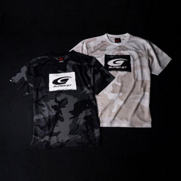 SUPER GT ドライカモフラTシャツ BRUSH(ブラック/Mサイズ)