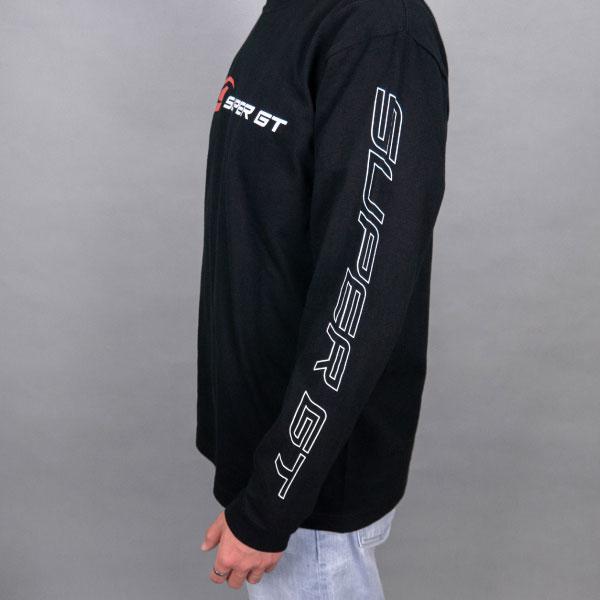 SUPER GT スタンダードロングスリーブTシャツ (ブラック/Lサイズ)