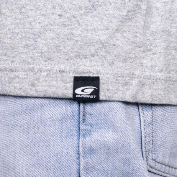 SUPER GT スタンダードロングスリーブTシャツ (杢グレー/XLサイズ)