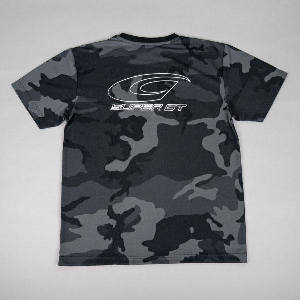 SUPER GT ドライカモフラTシャツ BRUSH(ブラック/Lサイズ)