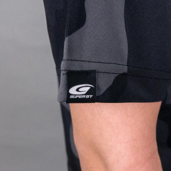 SUPER GT ドライカモフラTシャツ BRUSH(ブラック/XLサイズ)