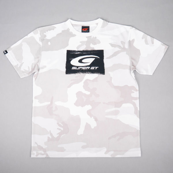 SUPER GT ドライカモフラTシャツ BRUSH(ホワイト/XLサイズ)