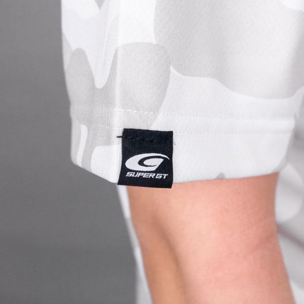 SUPER GT ドライカモフラTシャツ BRUSH(ホワイト/Lサイズ)