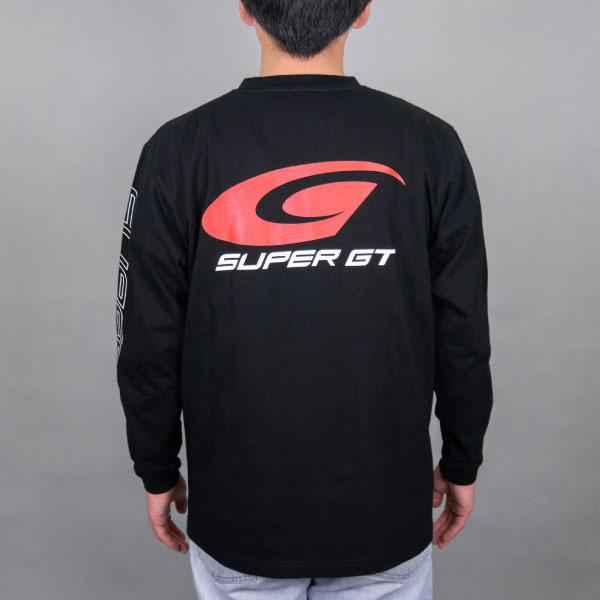 SUPER GT スタンダードロングスリーブTシャツ (ブラック/XLサイズ)