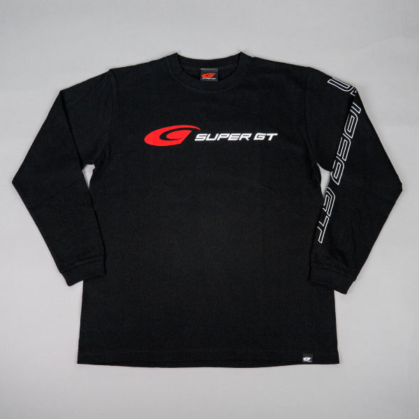 SUPER GT スタンダードロングスリーブTシャツ (ブラック/Mサイズ)