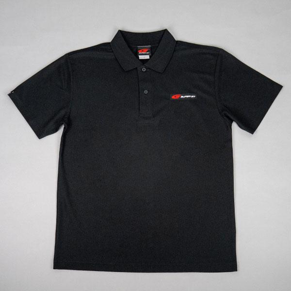SUPER GT スタンダードポロシャツ(ブラック/XLサイズ)