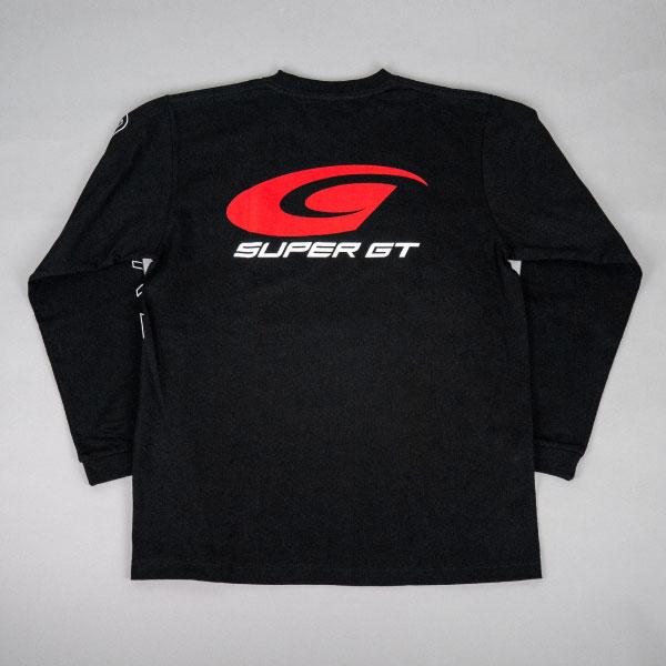 SUPER GT スタンダードロングスリーブTシャツ (ブラック/XXLサイズ)