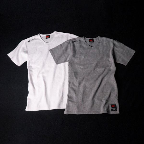 SUPER GT ワッフルTシャツ (ホワイト/XLサイズ)