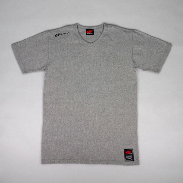 SUPER GT ワッフルTシャツ (グレー/Mサイズ)