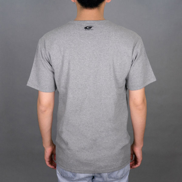 SUPER GT ワッフルTシャツ (グレー/Lサイズ)