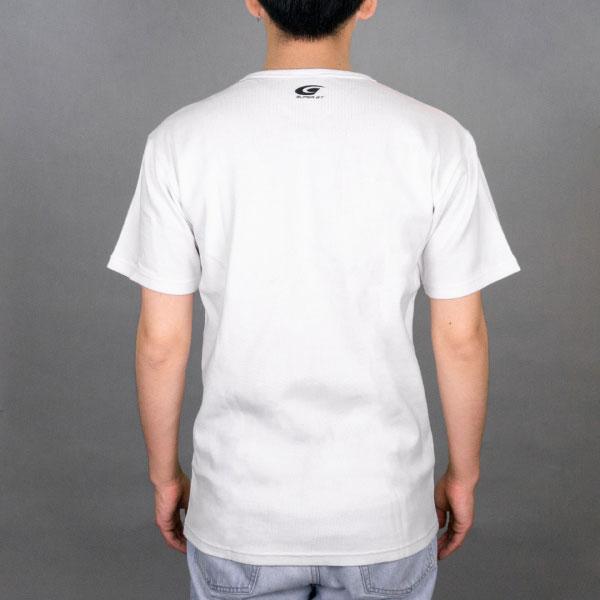 SUPER GT ワッフルTシャツ (ホワイト/Lサイズ)