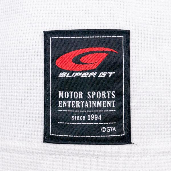 SUPER GT ワッフルTシャツ (ホワイト/Mサイズ)