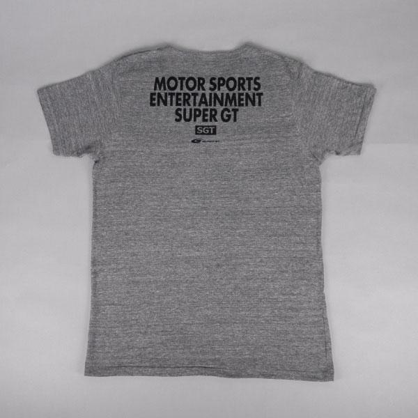 SUPER GT トライブレンドTシャツ(GR/Lサイズ)