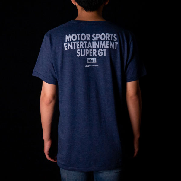 SUPER GT トライブレンドTシャツ(NV/Lサイズ)
