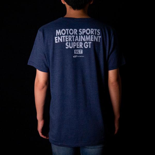 SUPER GT トライブレンドTシャツ(NV/XLサイズ)