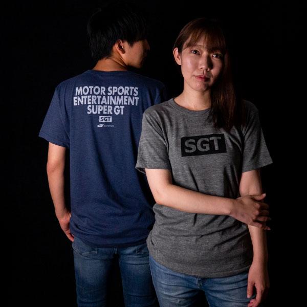 SUPER GT トライブレンドTシャツ(GR/Mサイズ)