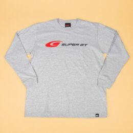 SUPER GT スタンダードロングスリーブTシャツ (杢グレー)