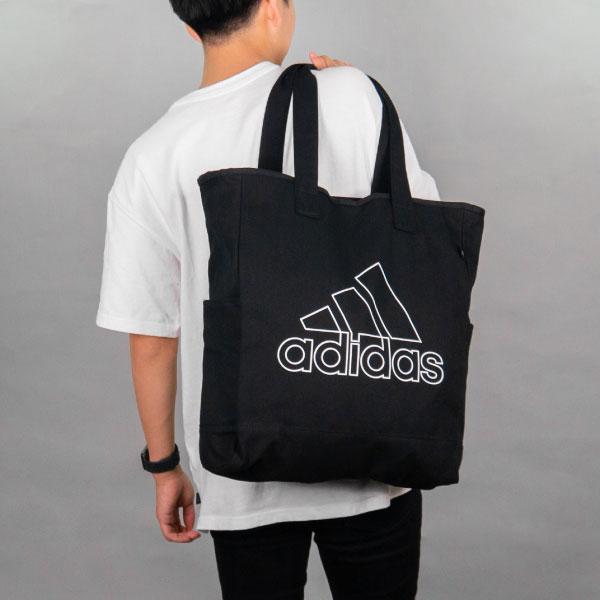adidas キャンバストートバッグ
