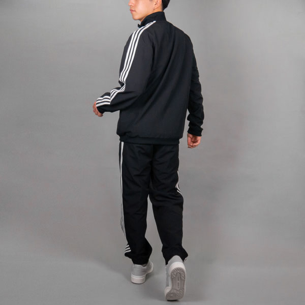 adidas 3ストライプストラックスーツ(Oサイズ)