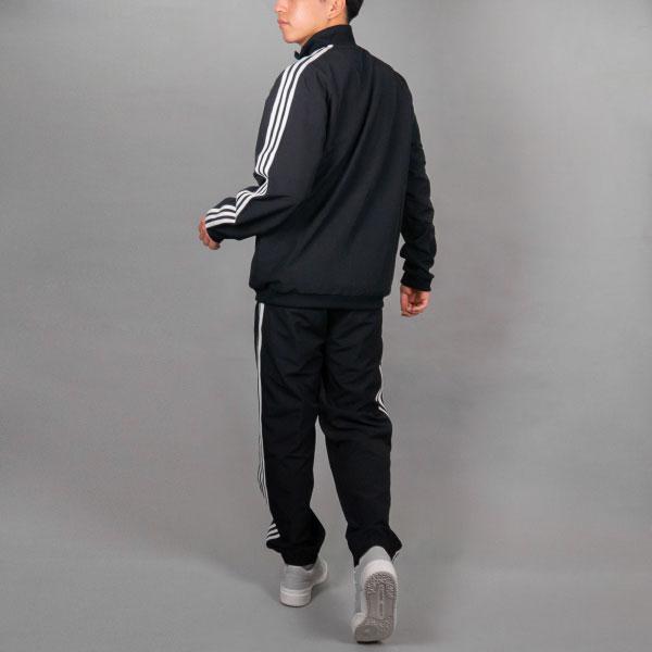 adidas 3ストライプストラックスーツ(Lサイズ)
