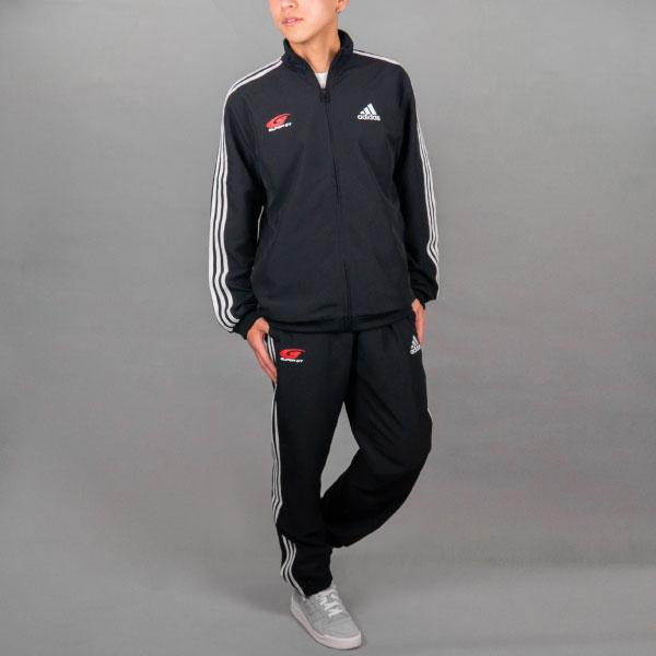 adidas 3ストライプストラックスーツ(2XOサイズ)